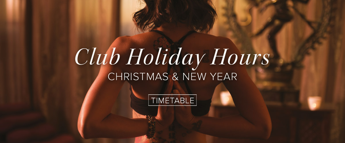 Elixr Holiday Hours