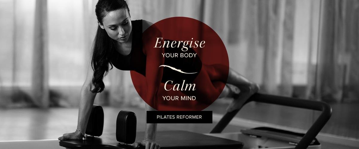 Elixr Health Clubs Pilates Reformer