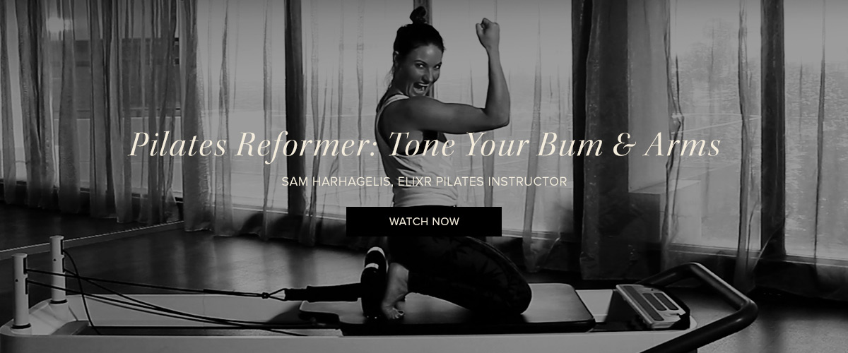 Elixr Health Clubs Pilates Moves for Runners