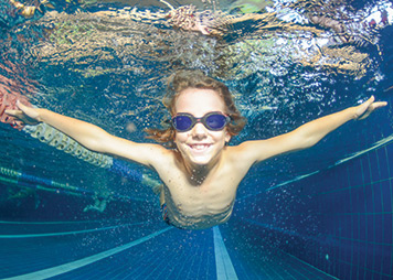 Elixr Health Clubs Swim School children