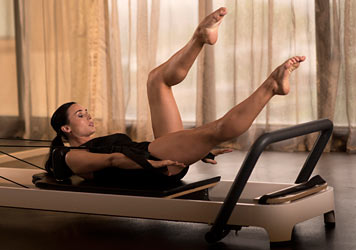 Elixr Health Clubs Pilates Reformer